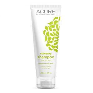 acure lemongrass argan clarifying shampoo