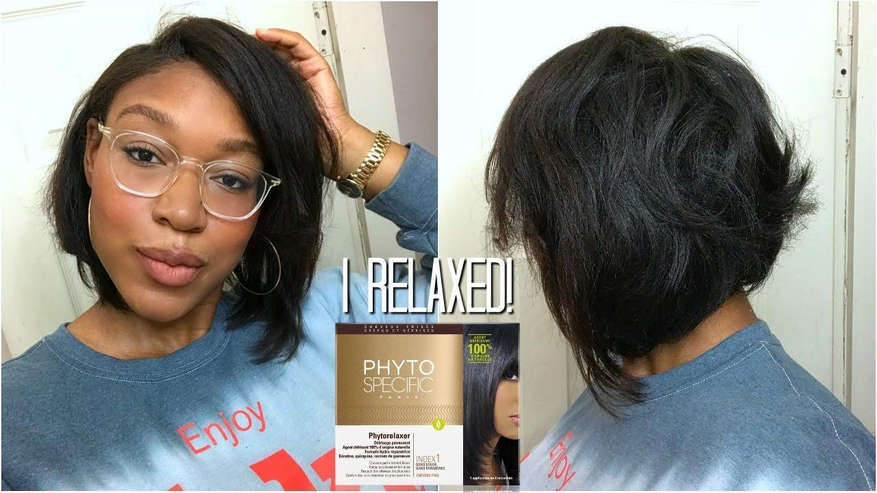 phytospecific relaxer before and after