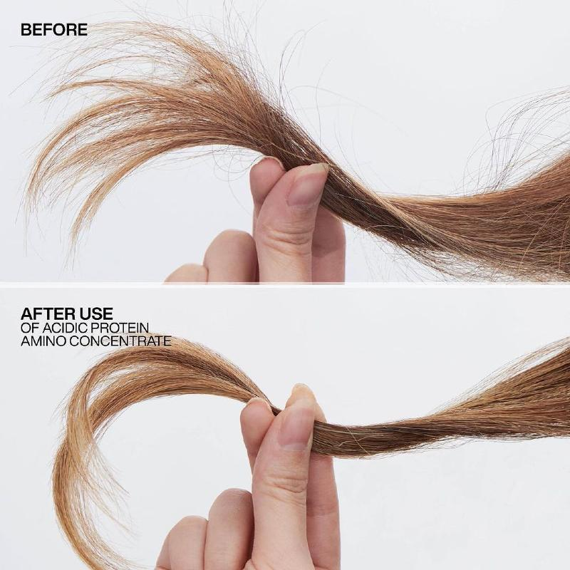 hair after redken leave-in treatment