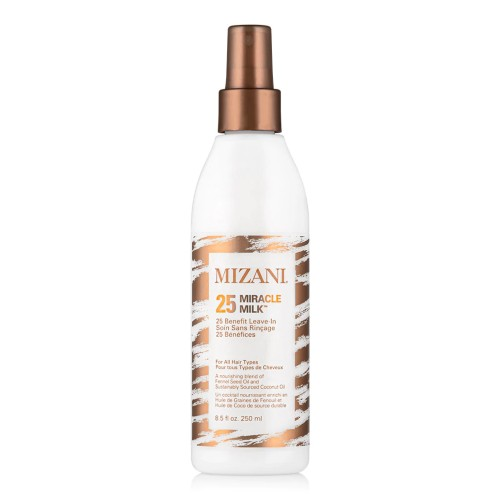 MIZANI 25 Miracle Milk Leave-In Conditioner, Moisturizing Spray for Relaxed Hair