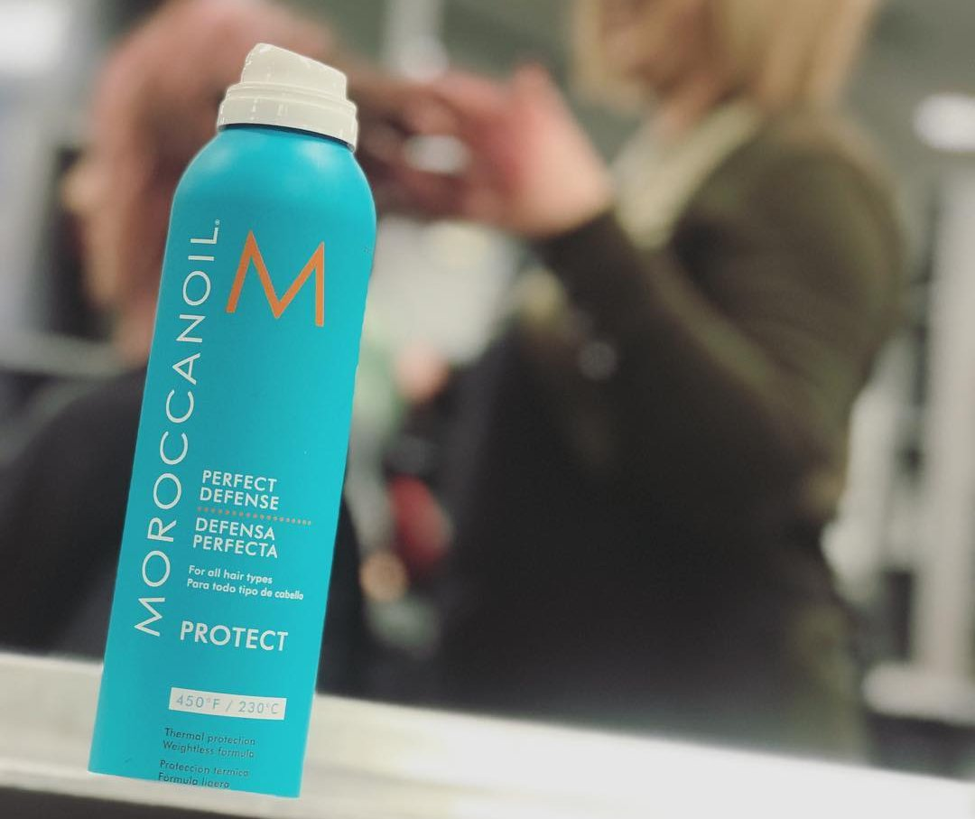 moroccanoil heat protectant for relaxed hair
