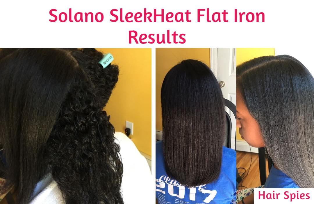 solano sleekheat before and after