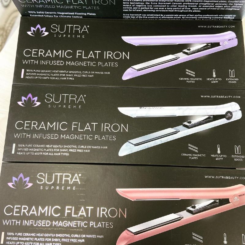 sutra flat iron colors