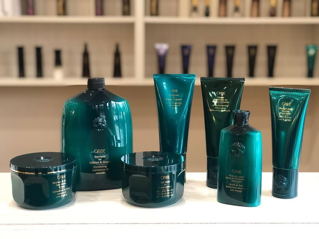 Oribe straightening products